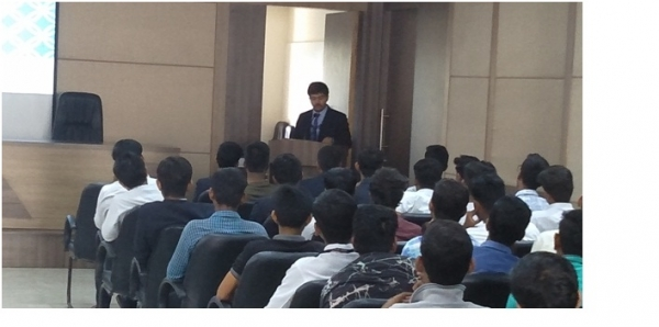 Guest Lecture on Antiragging and Sexual Harassment at Campus by Adv. Shyam Chandvale