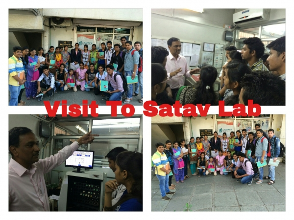 Visit to Satav's Pathology Lab.Chinchwad,Pune