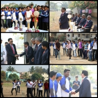 Organized Intercollegiate Cricket Tournament At D.Y.Patil sports Complex on 27 December to 29 December